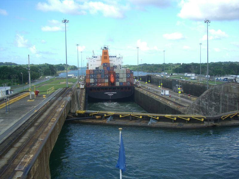 The Gatún locks