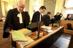 French lawyers not on strike