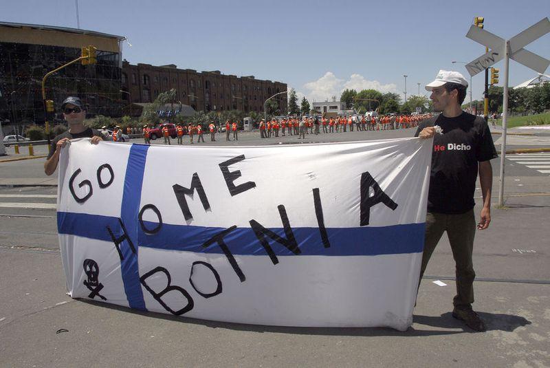Botnia blockades