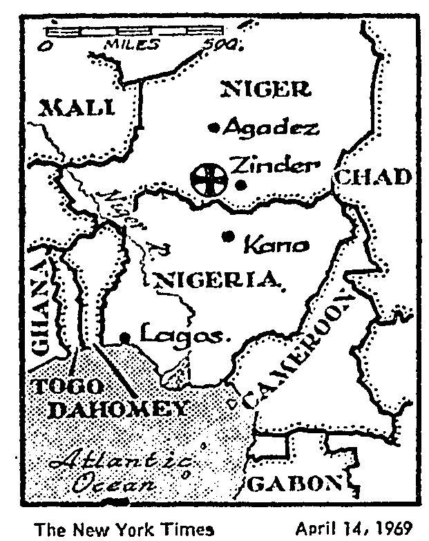Niger in 1969