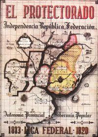 Liga Federal map