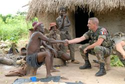 French soldiers in Africa