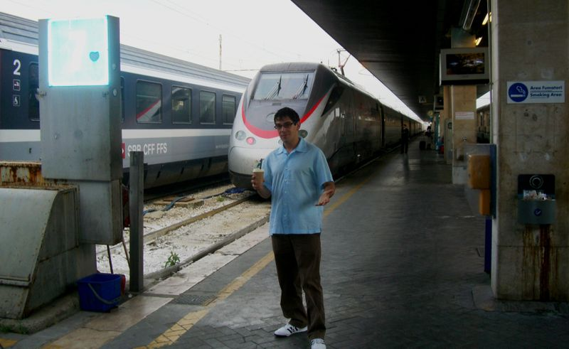 High speed rail in Italy wasn't high speed enough