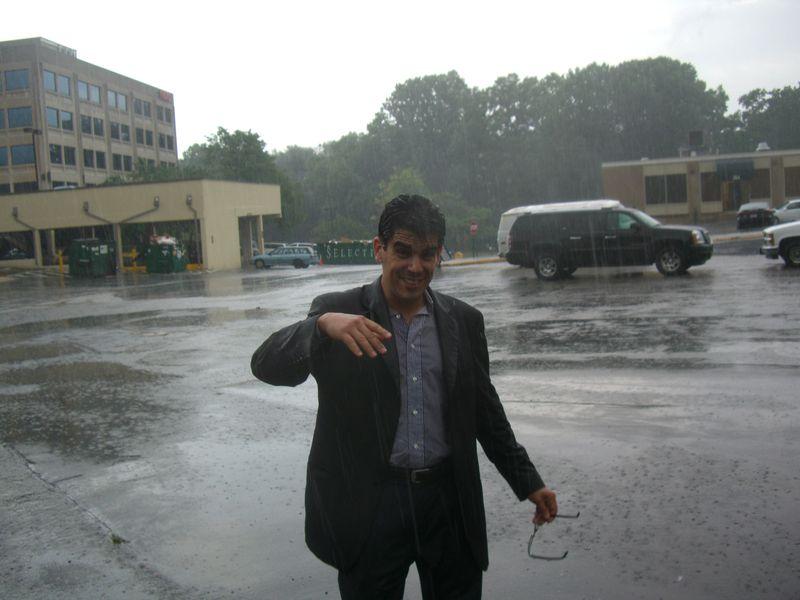 Rockville in the rain