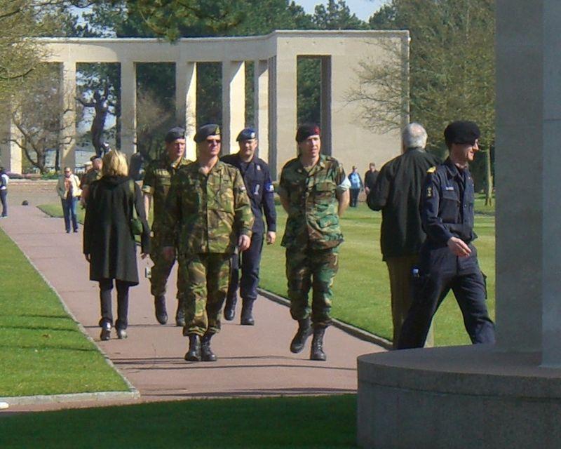 European troops