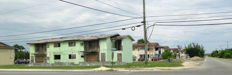 Slums on Grand Bahama
