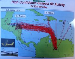 Suspect Air Activity, Jan-May 2011