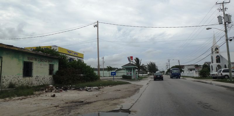 Poverty on Grand Bahama, but with KFC