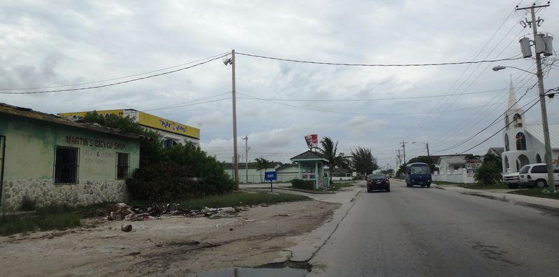Poverty on Grand Bahama, but with KFC