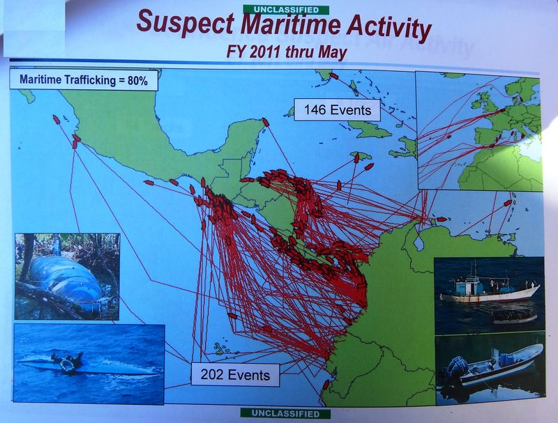 Suspect Maritime Activity, Jan-May 2011