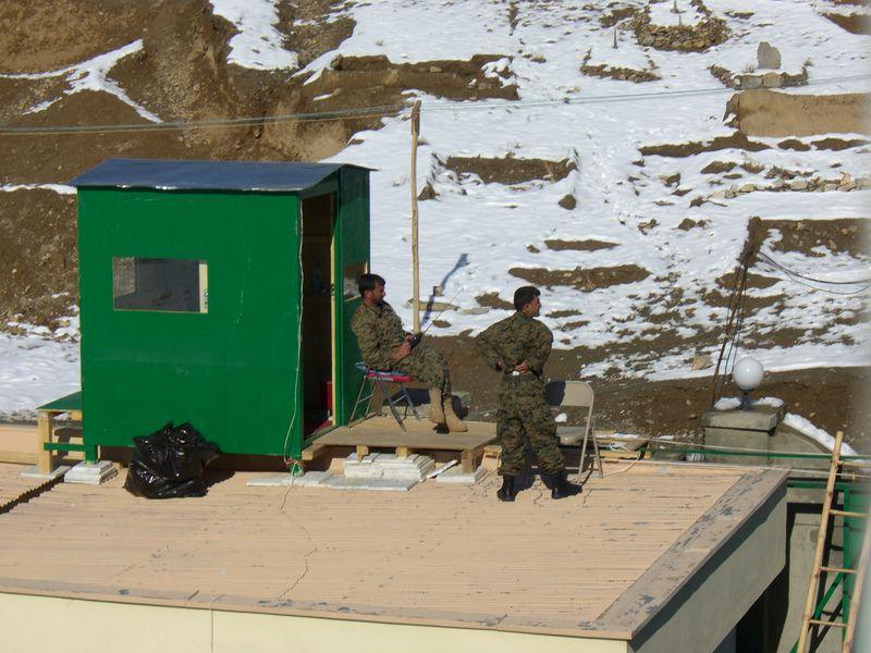 Afghan militia members