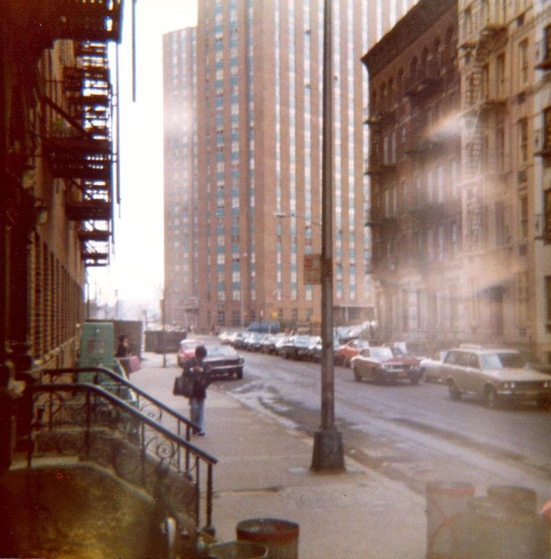 Back to East 93rd Street in 1970s! I do not think that is me in the picture ... but it could be