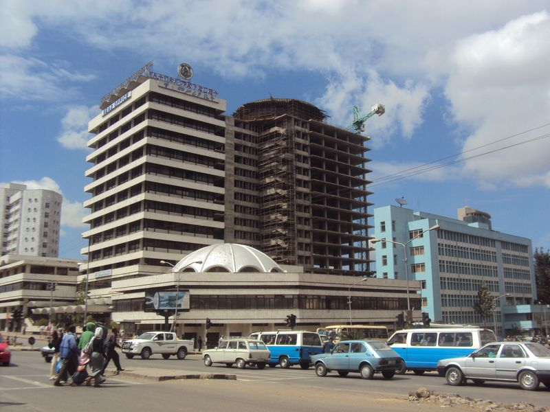 Addis Ababa construction