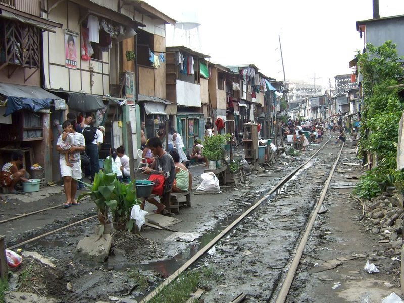 The Philippines are still poor