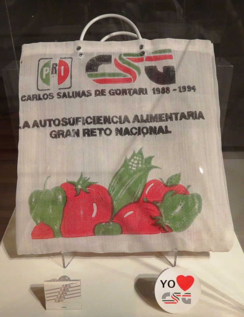 Here is a PRI food bag, from back in the day