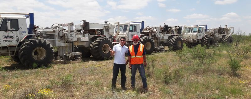 Out in West Texas looking for more oil to meet Chinese demand