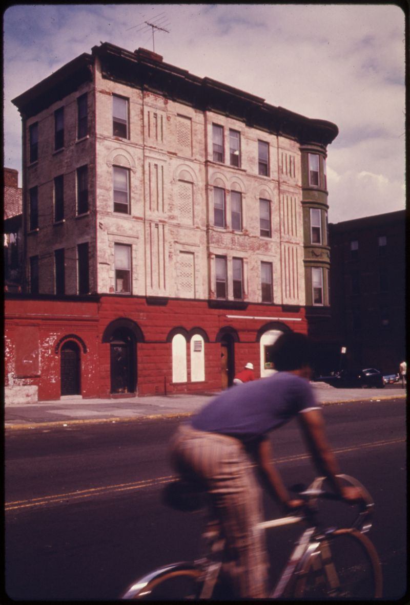 Vanderbilt Avenue, Brooklyn, circa 1974