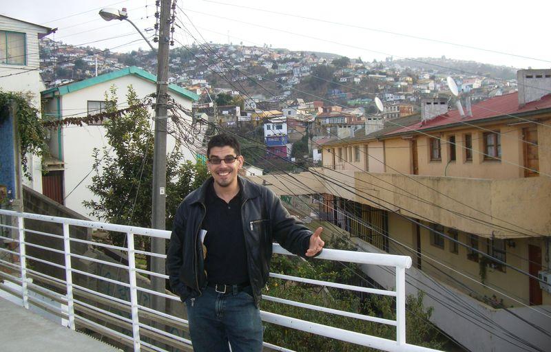 Noel Maurer in Valparaiso