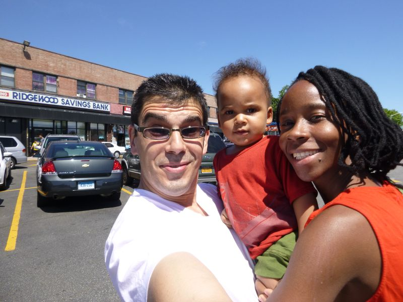 The Maurer family in Queens