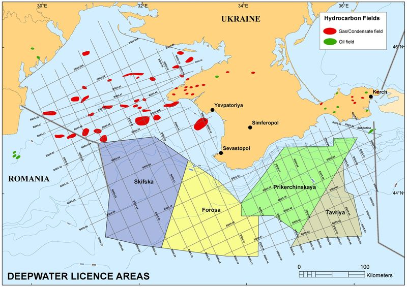 Black Sea hydrocarbons
