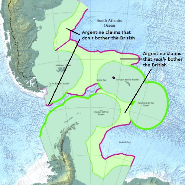Argentine maritime claims