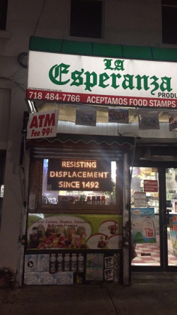 I think this Brooklyn bodega might irritate some Trump voters