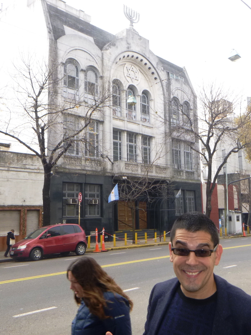 Here I am  in Buenos Aires  Noo Yawk