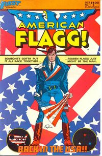 I'm American flagg!