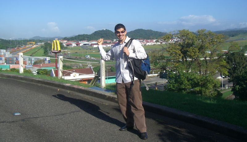 Noel Maurer says the Panama Canal Zone may be gone, but the Golden Arches are forever