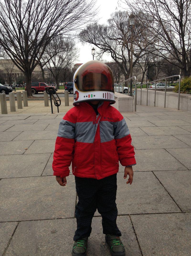 Gene Cernan wants a real spaceship!