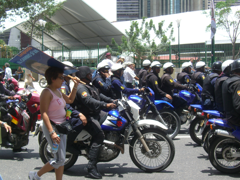 Once upon a time  motorcycles elicited no fear from protestors