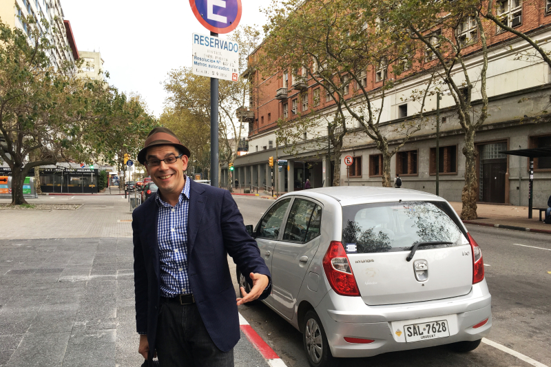 Noel Maurer is in Montevideo!