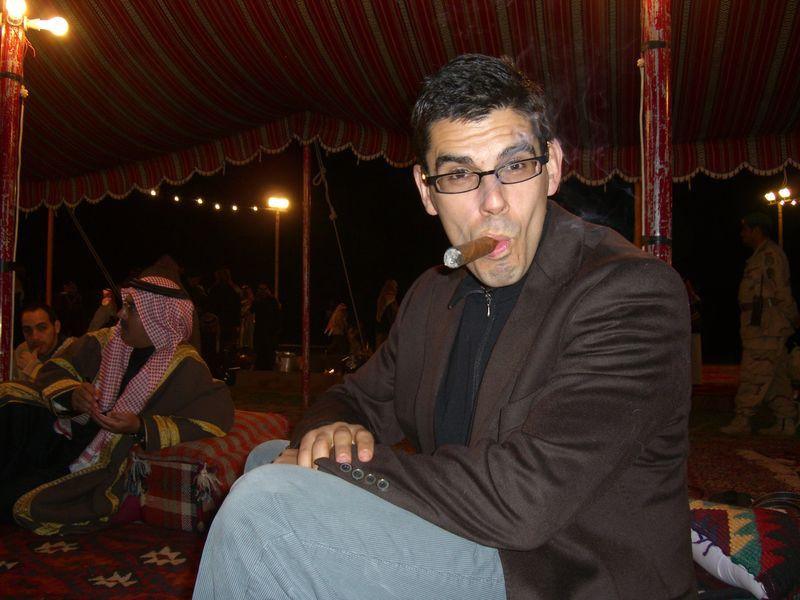 Noel Maurer says, there's money in Saudi Arabia, man