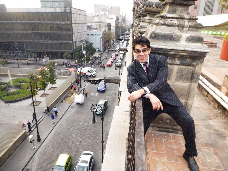 Noel Maurer is on a roof!