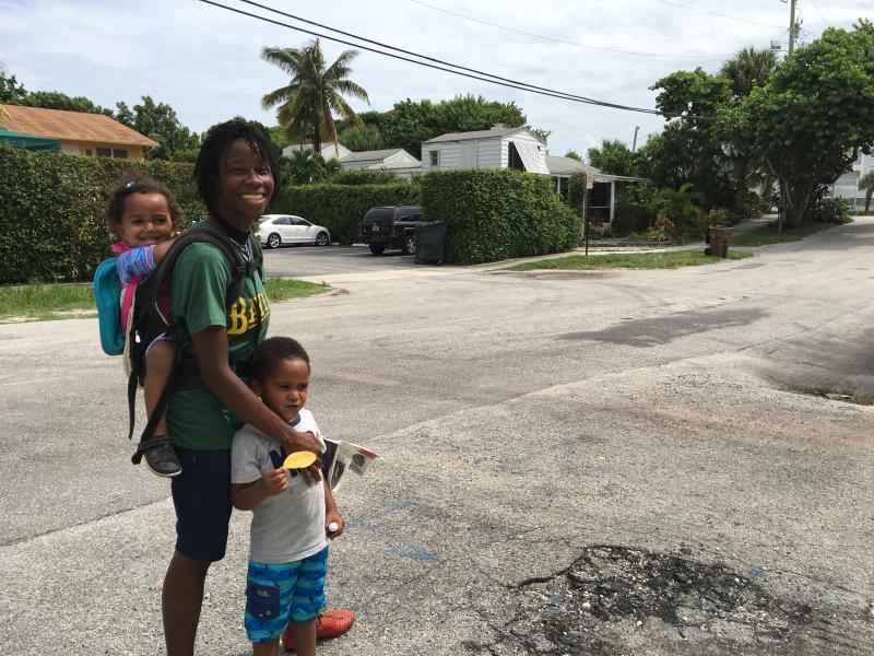 This is exactly the sort of Florida neighborhood where Vanilla Ice makes his money