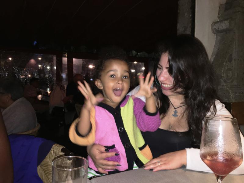Families show wide skin colors across cousins
