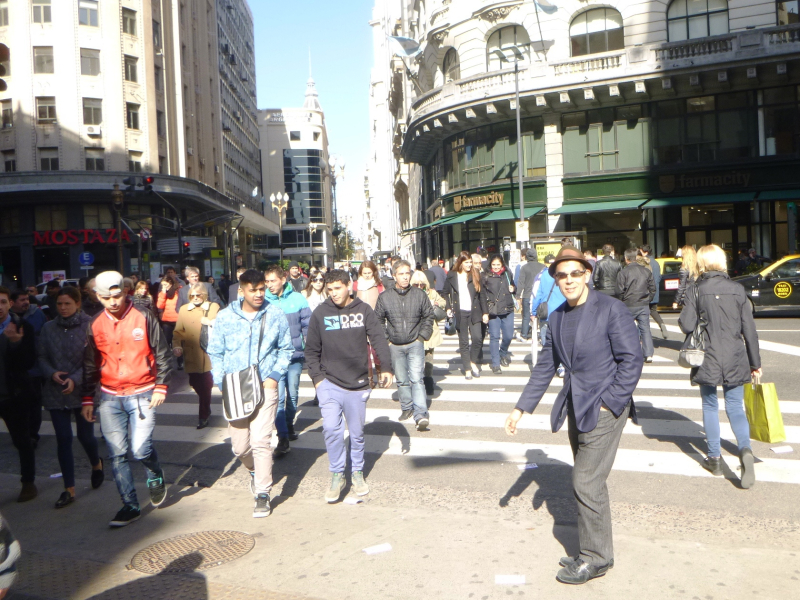 Downtown Buenos Aires in 2017