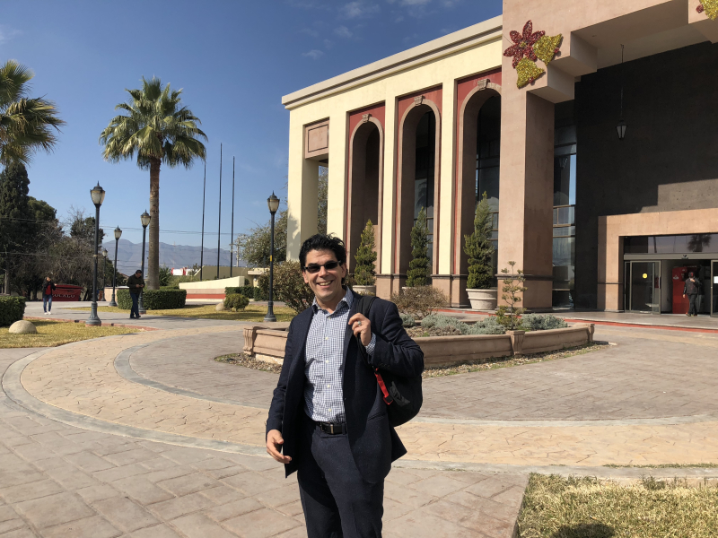 Behind me is the state finance ministry for Coahuila  the entity literally in charge of making sure that money does not get lost