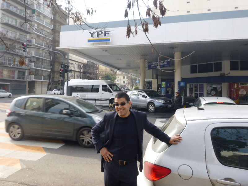 The real price of YPF gasoline is rather high