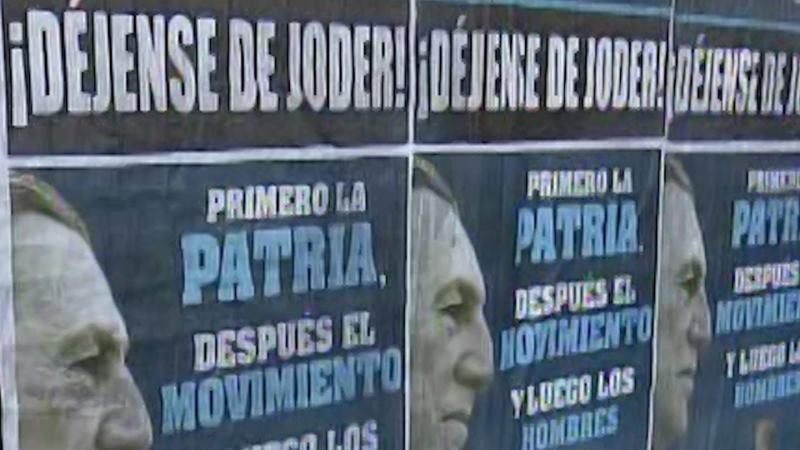 Stop fucking around! says Peron